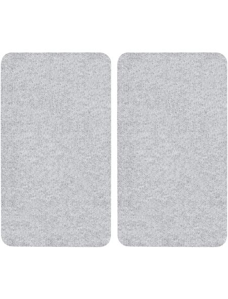 WENKO Glasabdeckplatte, BxHxT: 3 x 5,5 x 52 cm, Glas/Kunststoff