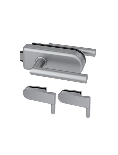 NOVADOORS Glasdrehtür-Beschlag, Aluminium