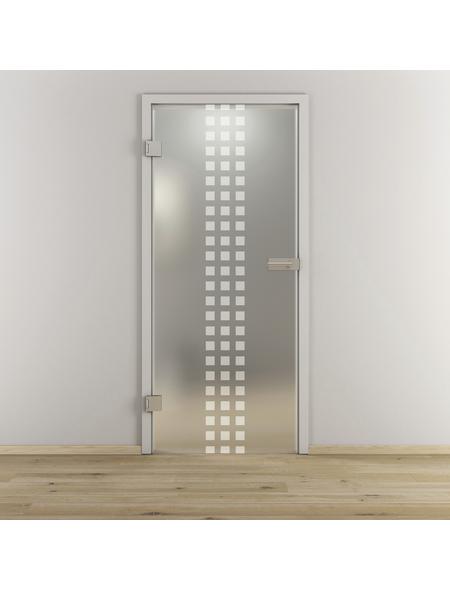 NOVADOORS Glasdrehtür »NOVA 502«, Anschlag: links, Höhe: 197,2 cm