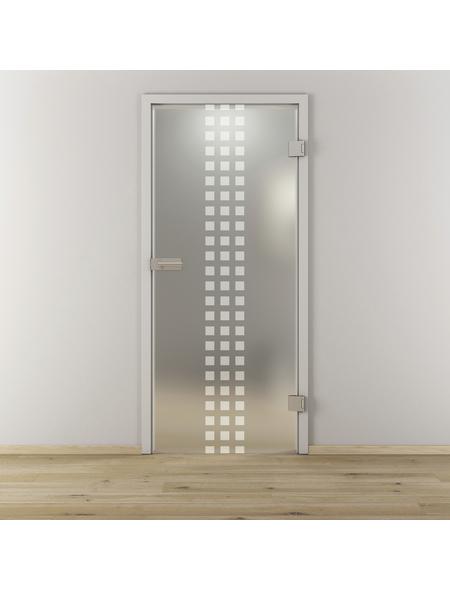 NOVADOORS Glasdrehtür »NOVA 502«, Anschlag: rechts, Höhe: 197,2 cm