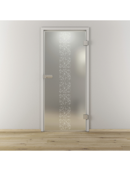 NOVADOORS Glasdrehtür »NOVA 504«, (BxH): 83,4 x : 197,2 cm
