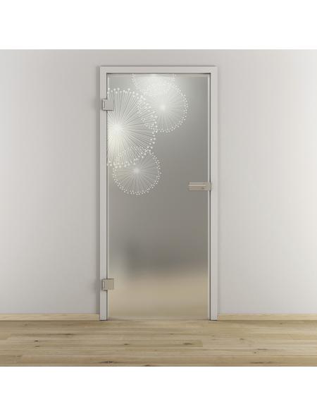 NOVADOORS Glasdrehtür »NOVA 507«, Anschlag: links, Höhe: 197,2 cm