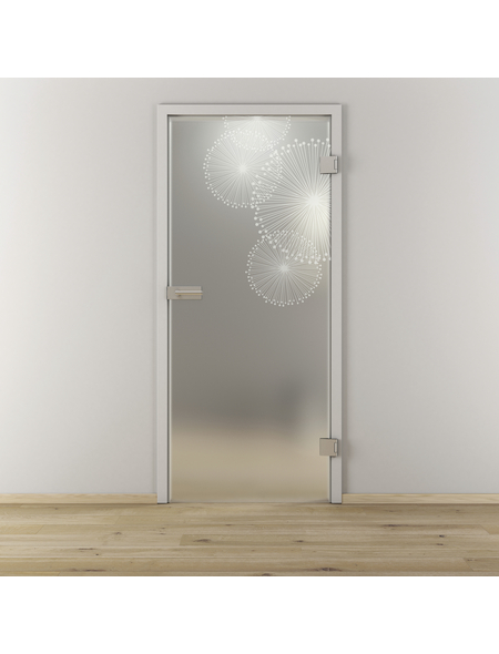 NOVADOORS Glasdrehtür »NOVA 507«, Anschlag: rechts, Höhe: 197,2 cm