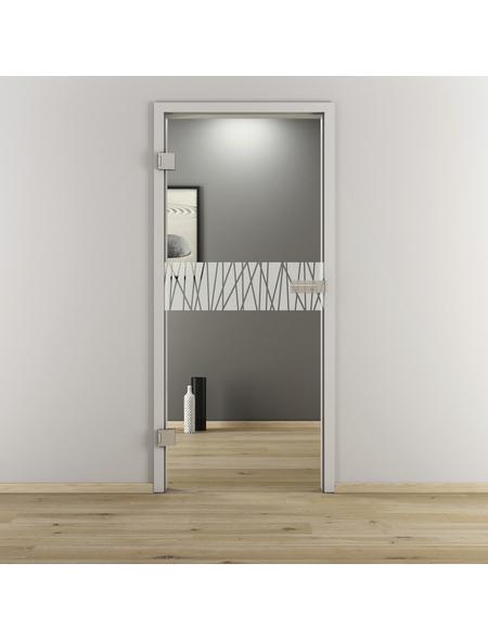 NOVADOORS Glasdrehtür »NOVA 546«, Anschlag: links, Höhe: 197,2 cm