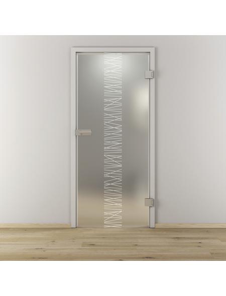 NOVADOORS Glasdrehtür »NOVA 549«, Anschlag: rechts, Höhe: 197,2 cm