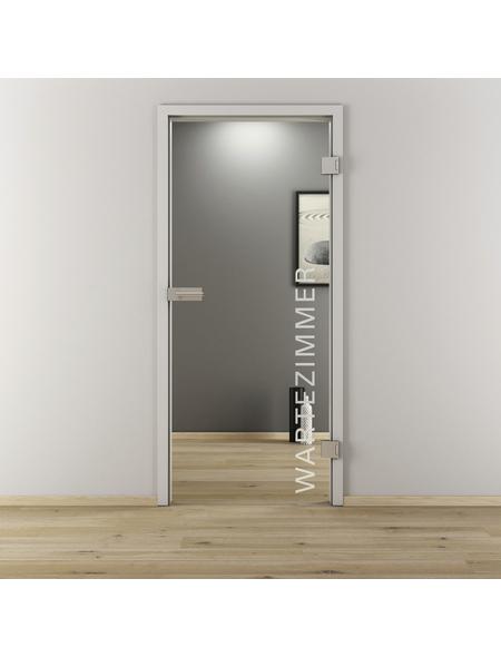 NOVADOORS Glasdrehtür »NOVA 554«, klar, Höhe: 197,2  cm