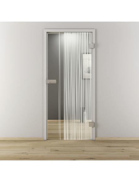 NOVADOORS Glasdrehtür »NOVA 584«, Anschlag: rechts, Höhe: 197,2 cm