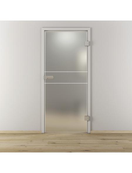 NOVADOORS Glasdrehtür »NOVA 589«, Anschlag: rechts, Höhe: 197,2 cm