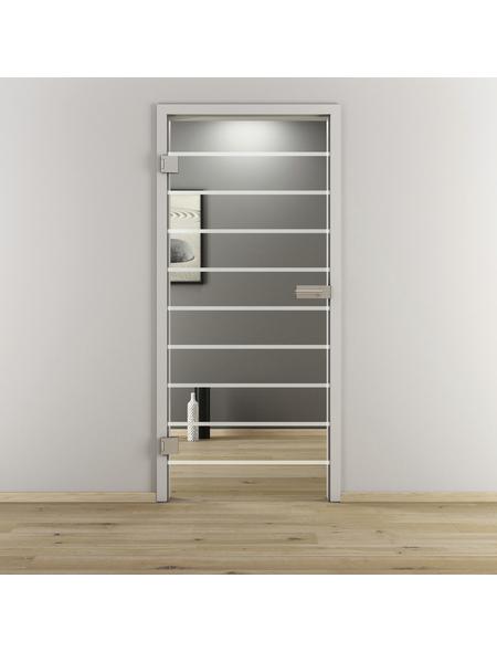 NOVADOORS Glasdrehtür »NOVA 592«, klar, Höhe: 197,2  cm