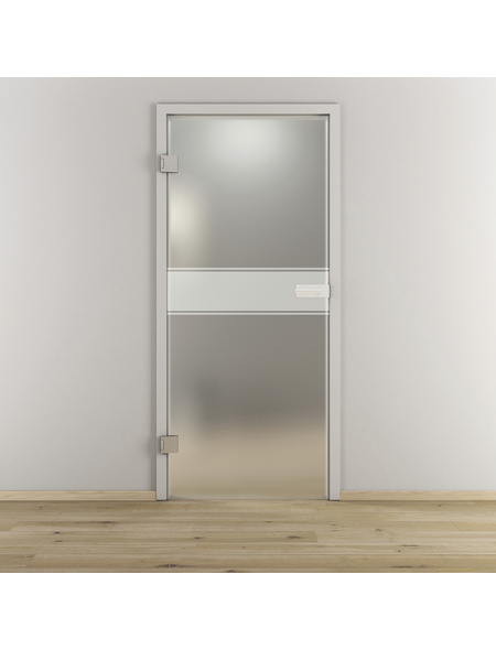 NOVADOORS Glasdrehtür »NOVA 593«, Anschlag: links, Höhe: 197,2 cm