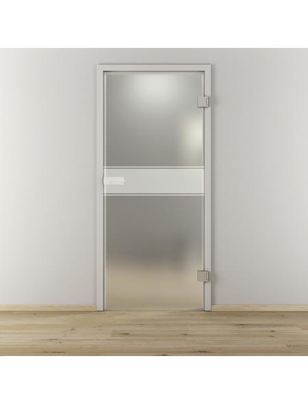 NOVADOORS Glasdrehtür »NOVA 593«, Anschlag: rechts, Höhe: 197,2 cm