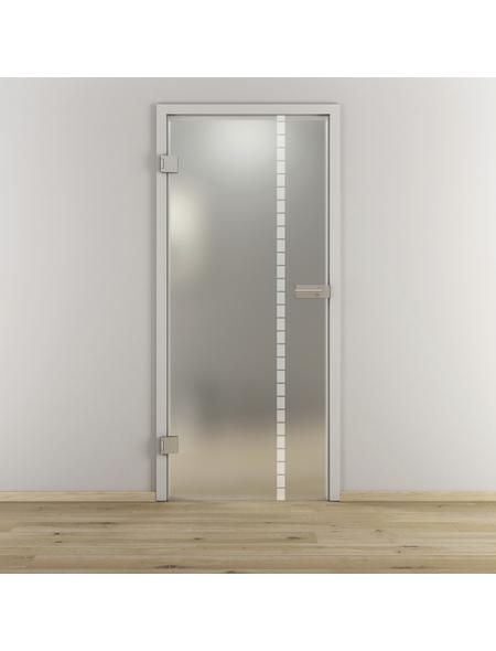NOVADOORS Glasdrehtür »NOVA 598«, Anschlag: links, Höhe: 197,2 cm