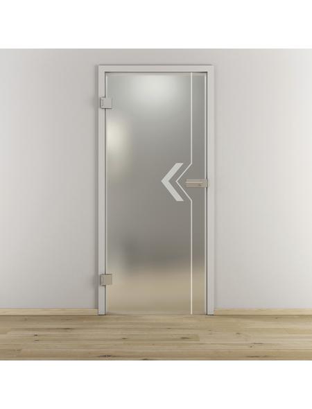 NOVADOORS Glasdrehtür »NOVA 599«, (BxH): 70,9 x : 197,2 cm