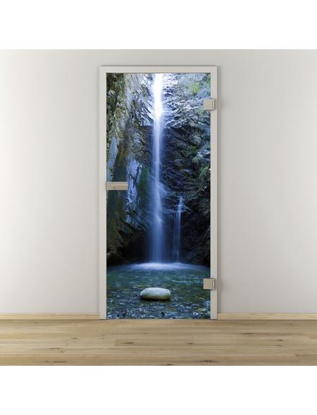 NOVADOORS Glasdrehtür »NOVA 646«, Anschlag: rechts, Höhe: 197,2 cm