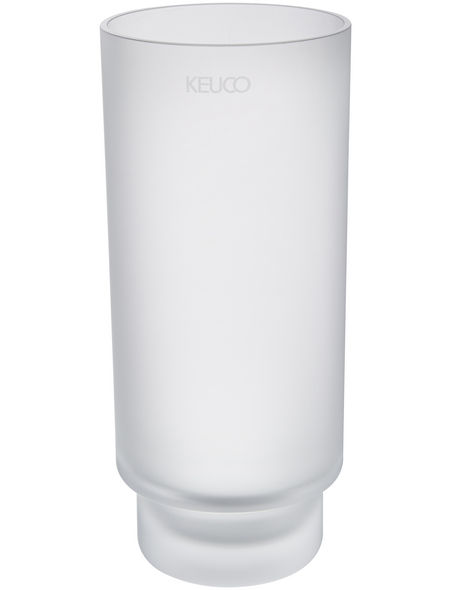 KEUCO Glaseinsatz, Kristallglas, matt, kristallfarben/weiß matt