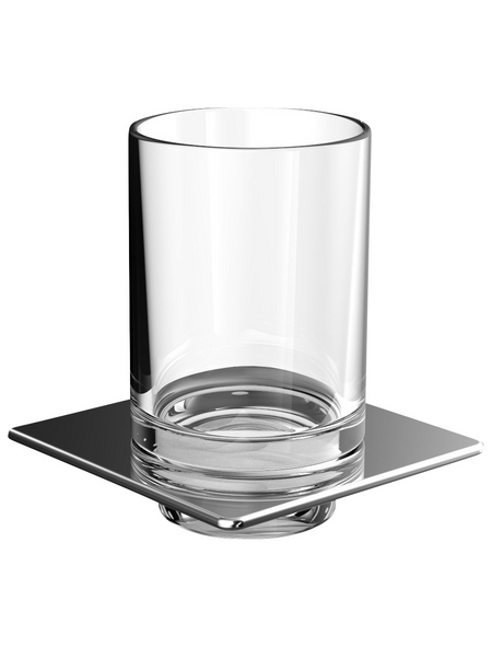 Glashalter »Art«, silberfarben
