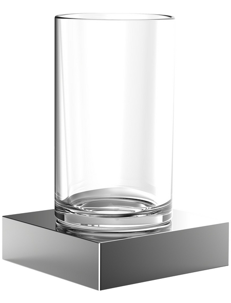 Glashalter »Liaison «, chromfarben