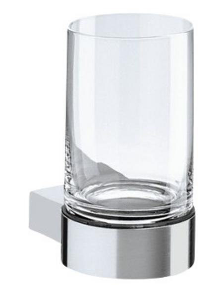 KEUCO Glashalter »Plan«, edelstahlfarben