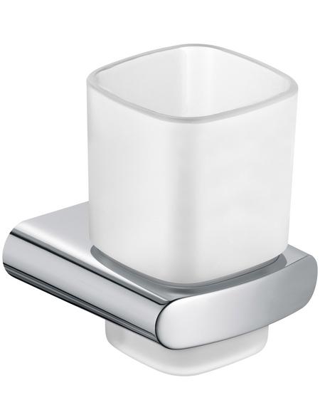 KEUCO Glashalter, weiß/chromfarben
