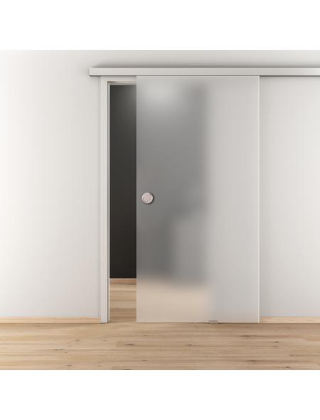 NOVADOORS Glasschiebetür »NOVA 501«, mattiert, Höhe: 205,8  cm