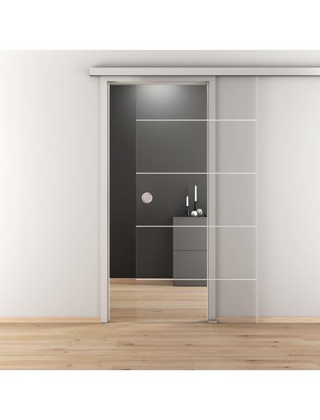 NOVADOORS Glasschiebetür »NOVA 582«, klar, Höhe: 205,8  cm
