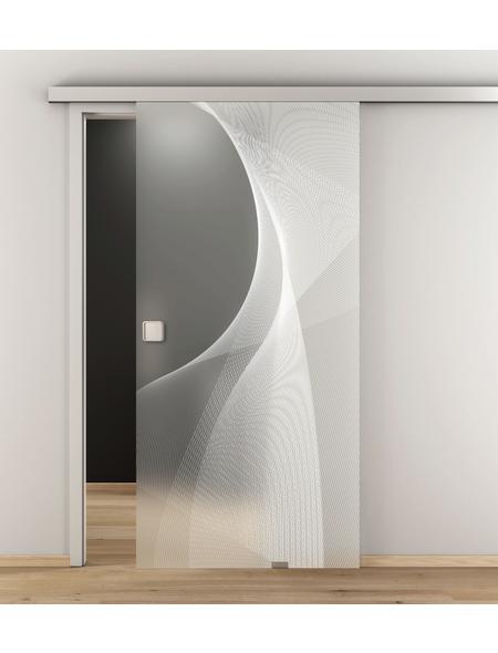 NOVADOORS Glasschiebetür »NOVA 634«, (BxH): 93,5 x : 205,8 cm
