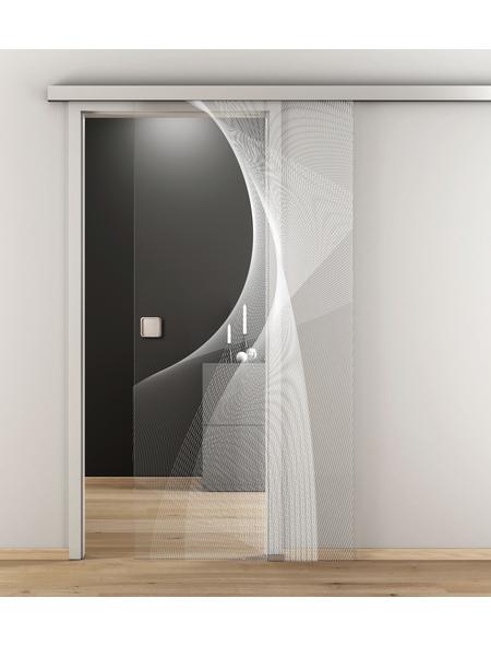 NOVADOORS Glasschiebetür »NOVA 634«, klar, Höhe: 205,8  cm