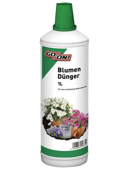 GO/ON! GO/ON Blumendünger flüssig, 1 l