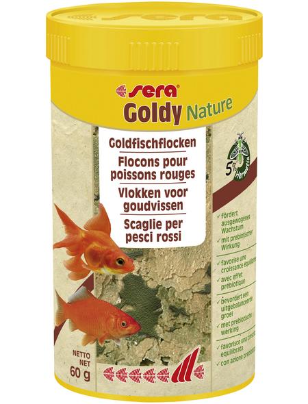 sera Goldfischfutter »Goldy Nature«, Aqua, 250ml