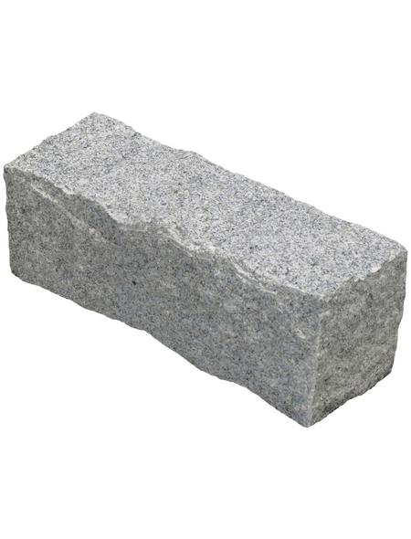 Granitpalisade, BxHxL: 10 x 25 x 10 cm, Granit
