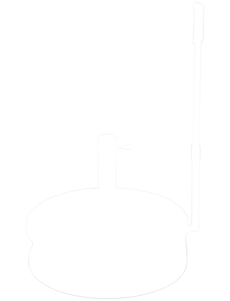 DOPPLER Granitsockel »Easy Move«, Granit, Rohrdurchmesser: 60 mm
