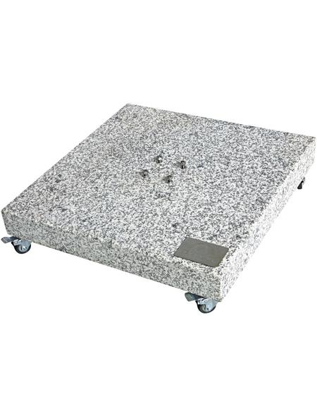 DOPPLER Granitsockel, Rohrdurchmesser: 32 - 70 mm