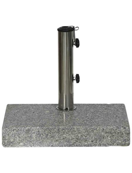 SIENA GARDEN Granitständer, Edelstahl/Granit, BxHxL: 45 x 7,5 x 28 cm