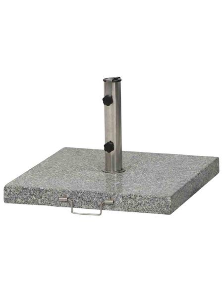 SIENA GARDEN Granitständer, Edelstahl/Granit, BxHxL: 54 x 5,5 x 54 cm
