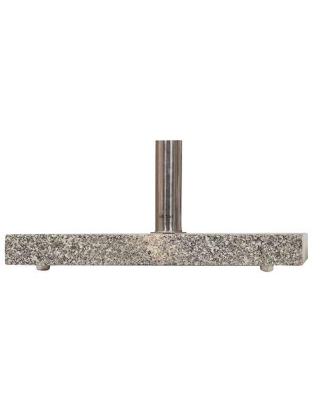 SIENA GARDEN Granitständer, granitgrau, geeignet für Schirmstöcke