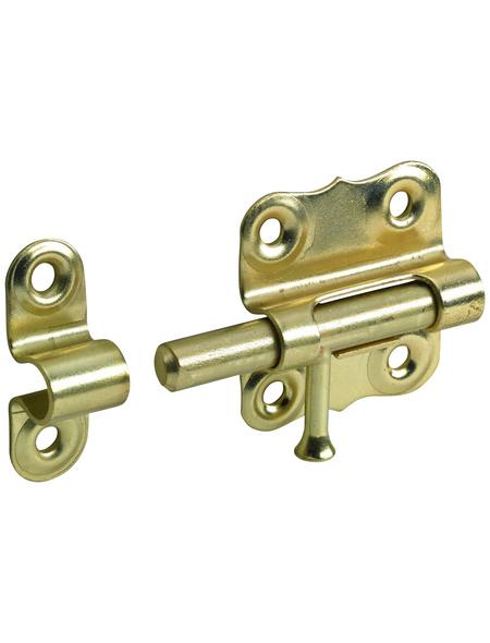 HETTICH Grendelriegel Stahl gold 35 x 33 mm 10 St.