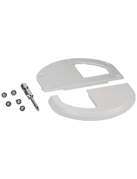 WINDHAGER Griff-Set, Aluminium, weiß