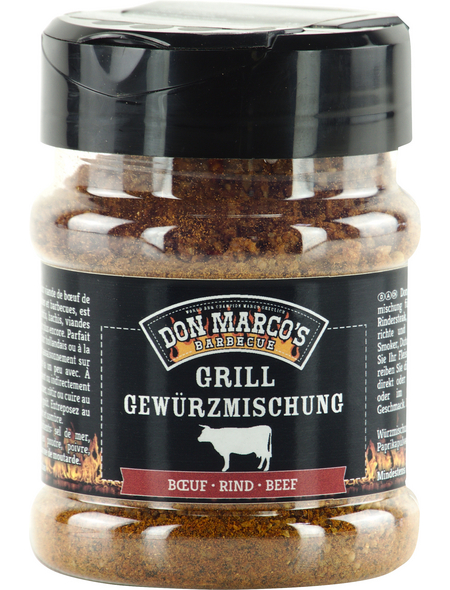 Don Marco´s Barbecue Grillgewürz, Basic Line Rind, 150 g