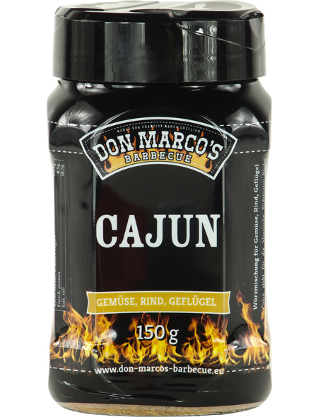 Don Marco´s Barbecue Grillgewürz, Cajun, 150 g