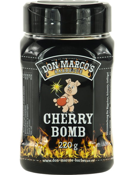 Don Marco´s Barbecue Grillgewürz, Cherry Bomb, 220 g