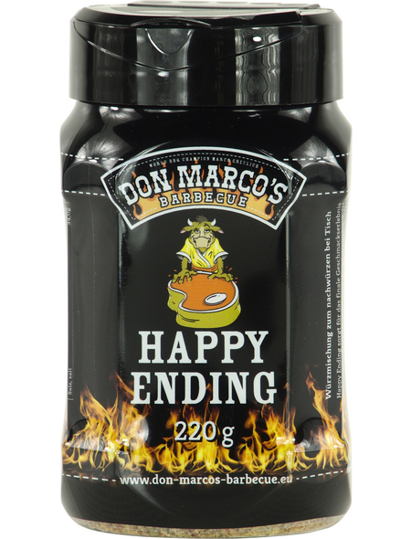 Don Marco´s Barbecue Grillgewürz, Happy Ending, 220 g