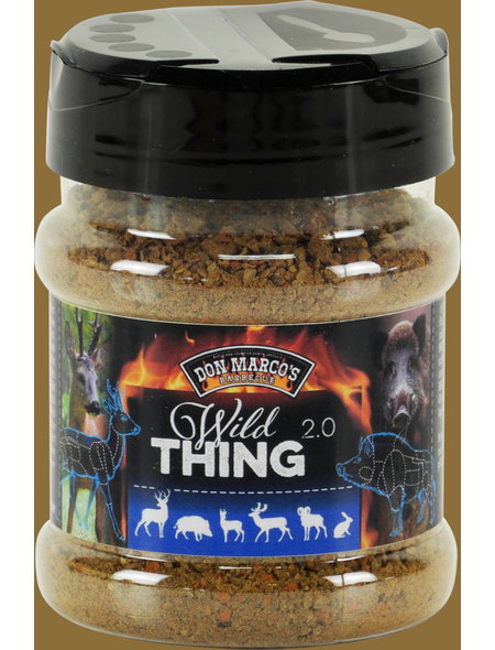 Don Marco´s Barbecue Grillgewürz, Wild Thing 2.0, 180 g