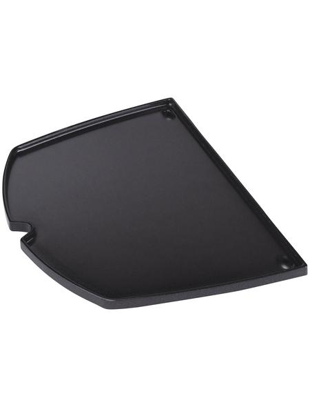 WEBER Grillplatte, Gusseisen, BxH: 21,84 x 1,27 cm