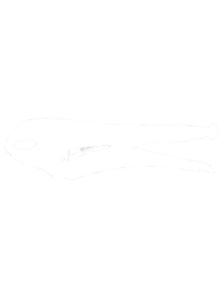 CON:P Gripzange, Silber, 250 mm