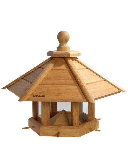 DOBAR Großes Design-Vogelhaus Anflug