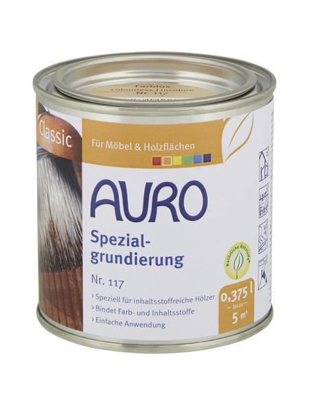 AURO Grundierung »Classic«, für innen & außen, 0,375 l, farblos, untergrundabhängig