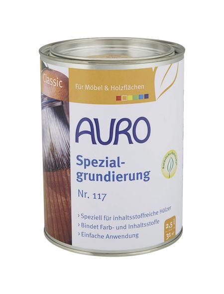 AURO Grundierung »Classic«, für innen & außen, 2,5 l, farblos, untergrundabhängig