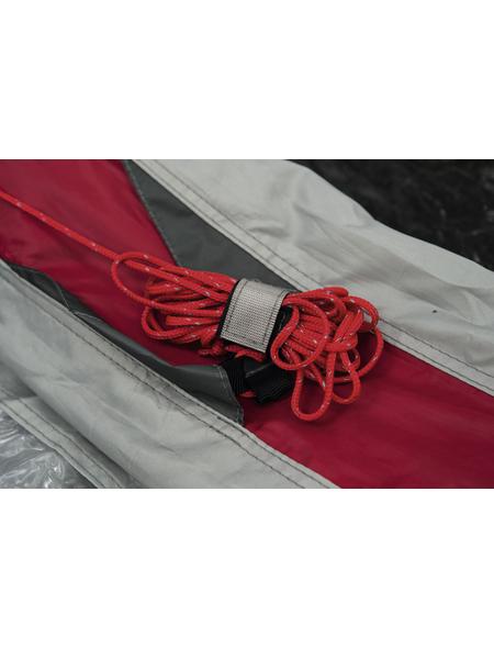 PAVILLO Gruppenzelt »Sierra Ridge Air Pro X 6«, Für: 6 Personen, grau/rot