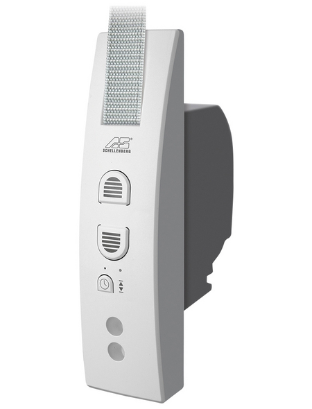 SCHELLENBERG Gurtwickler, weiß, geeignet für: Rollladen-System MAXI