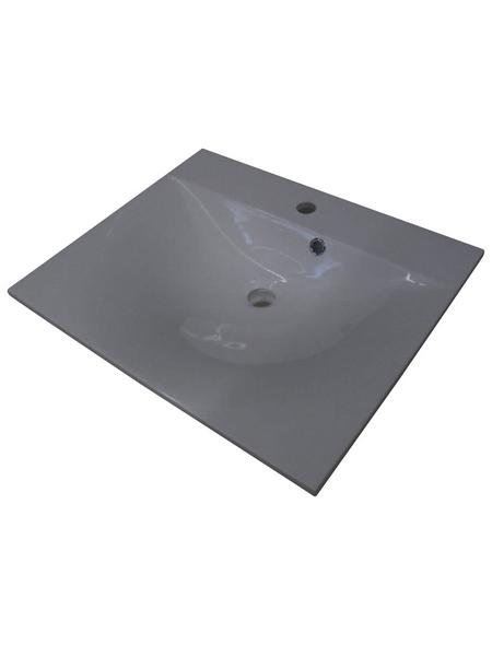 FACKELMANN Gussmarmorbecken »Como«, Breite: 60 cm